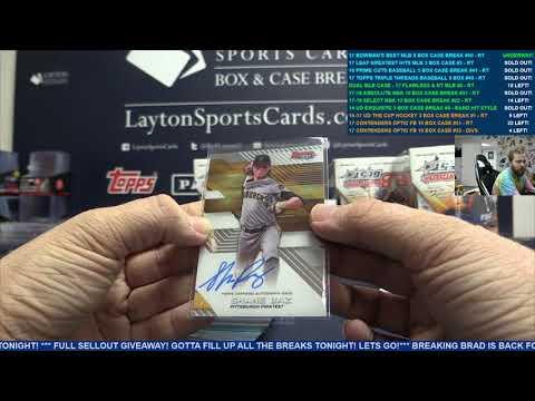 2017 Bowman's Best Baseball Hobby 8 Box Case Break #40 – RANDOM TEAMS