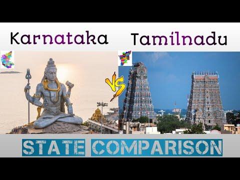 Karnataka and Tamilnadu State Comparison   Cities   GDP   world wide