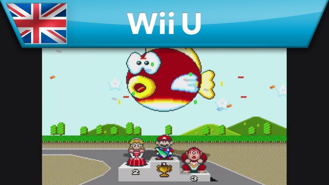 Super Mario Kart Nintendo Eshop Trailer Wii U Youtube