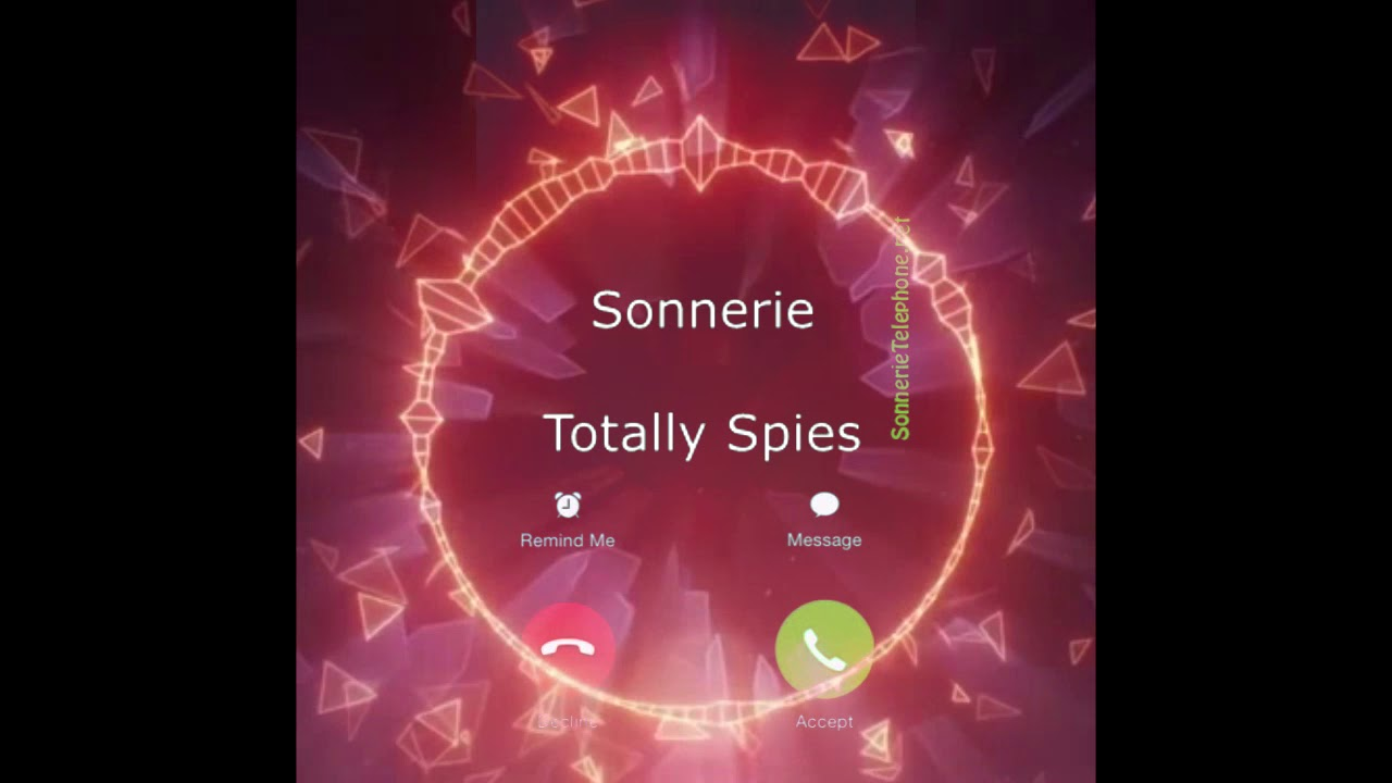 sonnerie iphone 8 totally spies