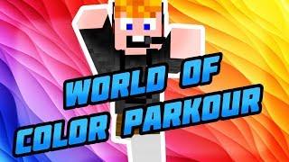 Minecraft - World of Color Parkour [AZ ŰVEG!]