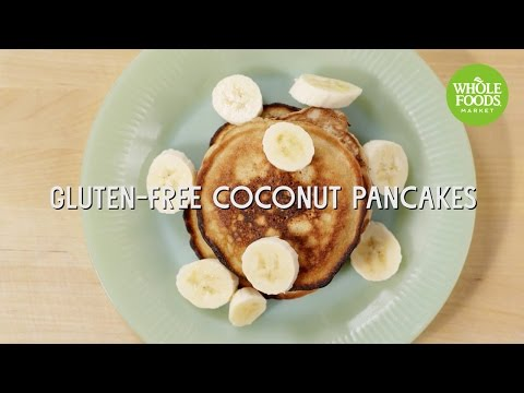 Gluten-Free Coconut Pancakes | Special Diet Recipes | Whole Foods Market