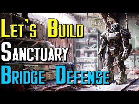 Let's Build Fallout 4: Sanctuary Bridge Defense