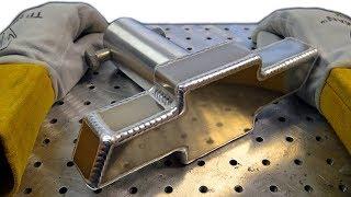 TIG Welding Aluminum Fabrication - 6061 - Chevrolet