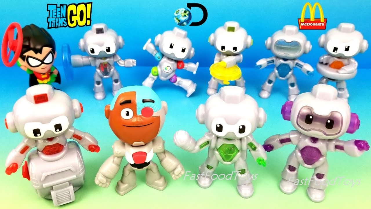 2019 Mcdonald S Discovery Mindblown Robots Happy Meal