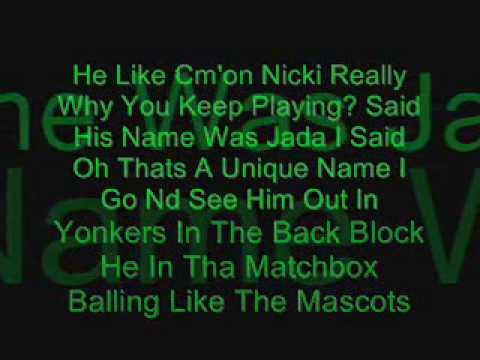 Nicki Minaj I Think She Like Me Verse With Lyrics