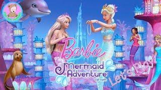 Barbie Mermaid Games for Girls - Let's PLAY Kids! part 2