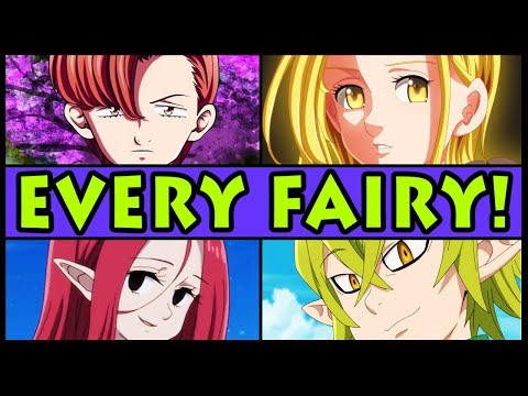 Every Fairy RANKED from Weakest to Strongest! (Seven Deadly Sins / Nanatsu no Taizai All Fairies)