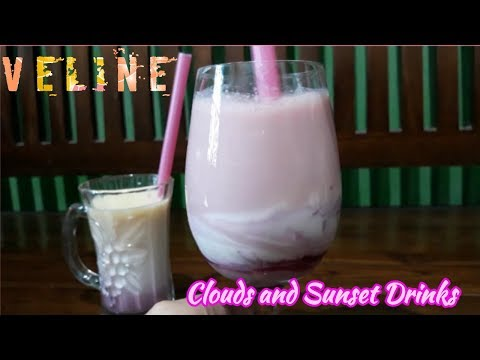 Cloudy and Sunset drinks that will blow your mind! Minuman segar saat berbuka :)