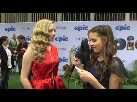Carly Rose Sonenclar Interviews Amanda Seyfried at Epic Premiere!