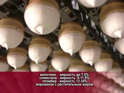 Мороженое Пломбир. Калорийность и состав Пломбира