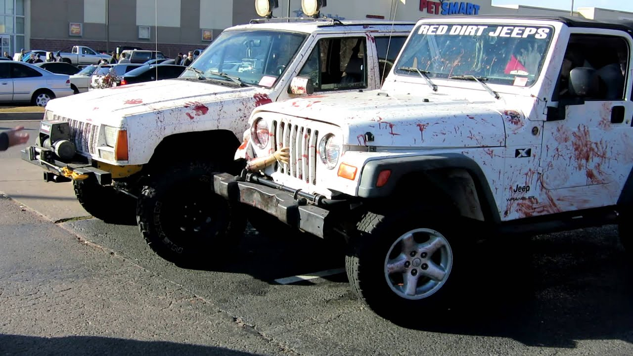 Post Zombie Apocalypse Jeeps - Custom. - YouTube