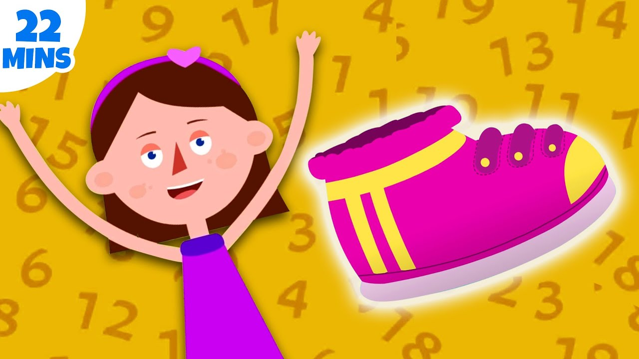 One Two Buckle My Shoe | Numbers Song For Kids | Nursery Rhymes & Kids Songs | Captain Discovery