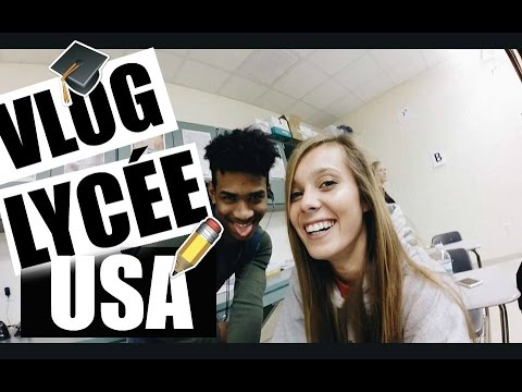 FRENCH GIRL IN THE AMERICAN HIGH SCHOOL ! - Moka