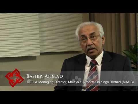 Executive Focus: Bashir Ahmad, CEO & Managing Director, Malaysia Airports Holdings Berhad (MAHB)
