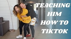 Teaching Popular TikTok Dances To My Dudeson Husband!