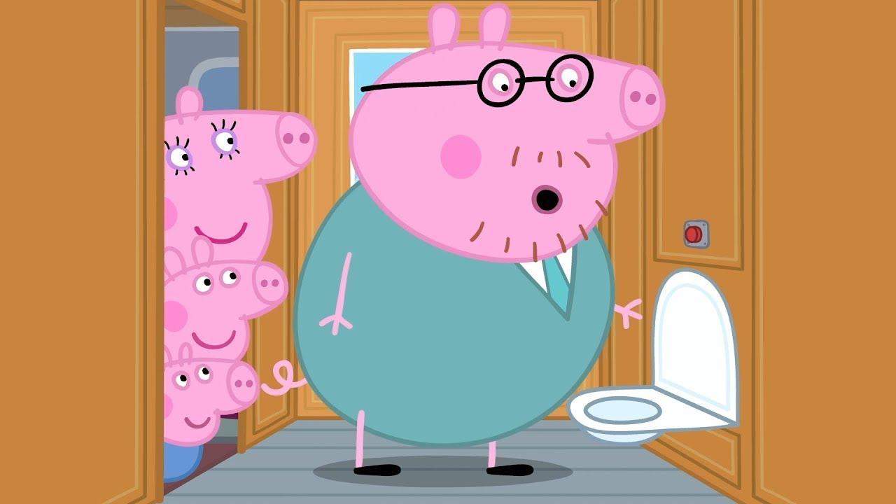 Peppa Pig Full Episodes Long Train Journey Cartoons For Children