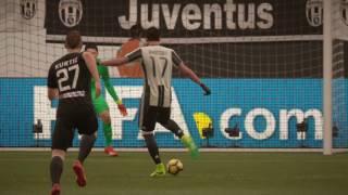 Ricostruzione Juventus - Atalanta 3 a 1 #Fifa17 By Bruno Longhi!