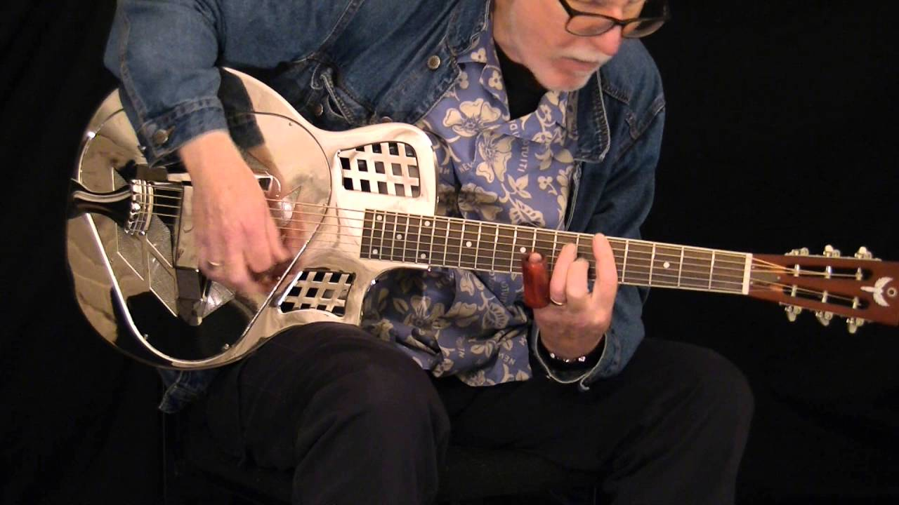Icarus TriCone Resonator Guitar Played By Pete Harris