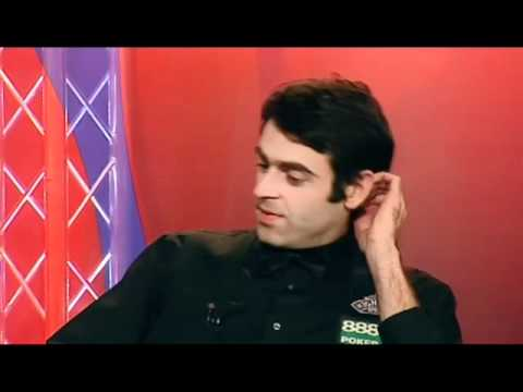 Ronnie O`Sullivan expressing his thoughts about Peter Ebdon