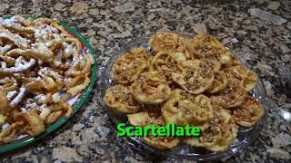 Italian Grandma Makes Christmas Cookies: Scartellate, Struffoli & Crostoli