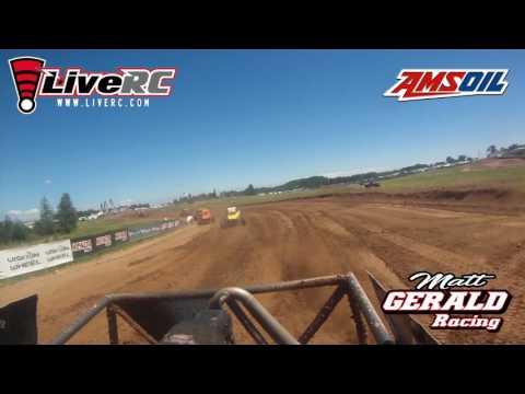 Take a lap with Matt Gerald around Bark River race way.