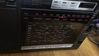 ICF-EX5Mk2で南海放送(AM1116kHz FM補完91.7MHz)の聴き比べ。といって...