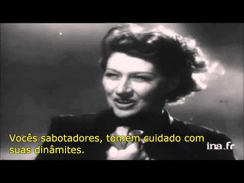 Le Chant Des Partisans - Germaine Sablon - Legendado (Pt/Br)
