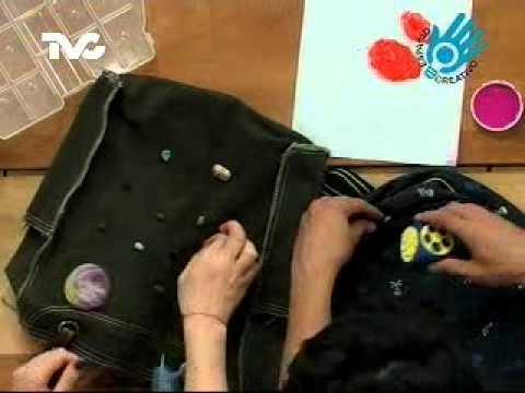 C mo decorar una mochila ec youtube for Cosas para decorar tu pieza