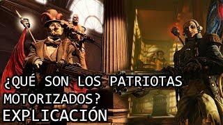 ¿Qué son los Patriotas Motorizados? EXPLICACIÓN | Los Patriotas Motorizados de Bioshock EXPLICADOS