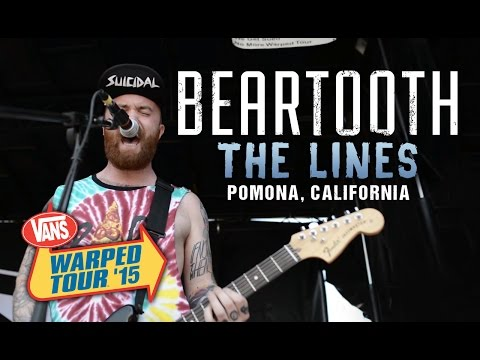 "Beartooth - ""The Lines"" LIVE! Vans Warped Tour 2015"