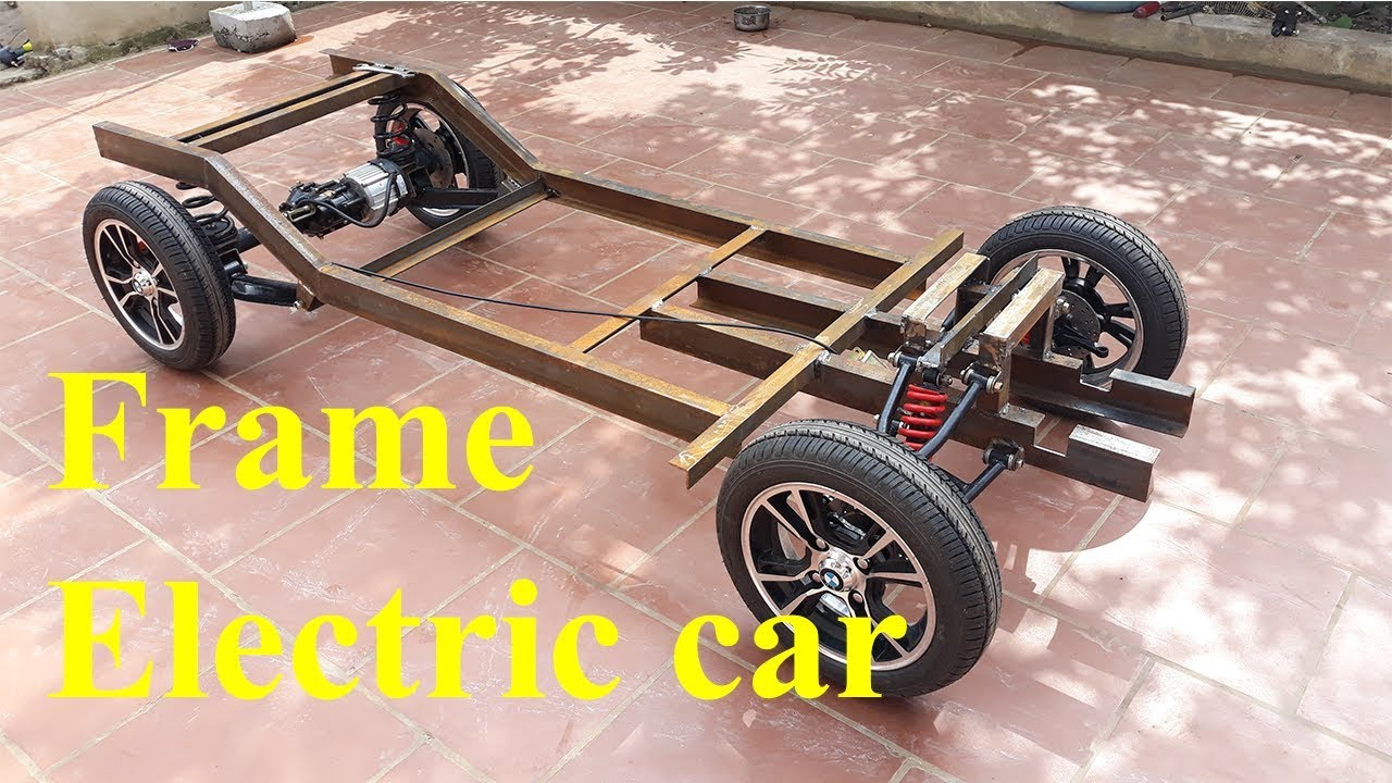 Tech Electric Car With Oil Disc Brakes Part 3 Frame The
