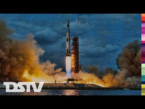 THE APOLLO 16 LAUNCH AS IT HAPPENED LIVE ON FRENCH RADIO