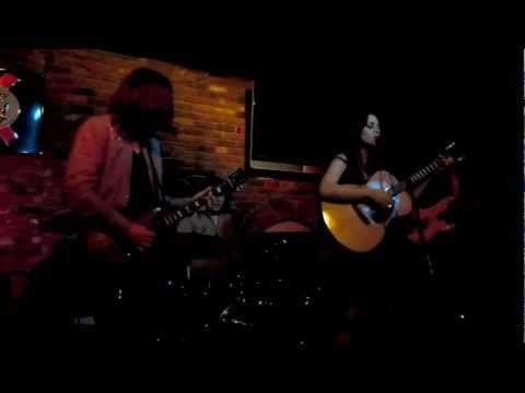 """Michelle Vidal and The Fur Traders """"Cowboy"""" @ Taix Lounge 321 Los Angeles CA 6-22-11"""