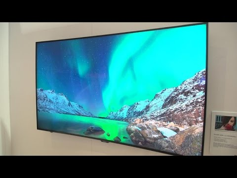 Sharp TV adds dimming and dots
