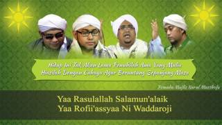 Qasidah Ya Rasulallah Salamun'alaik + Lirik | Nurul Musthofa