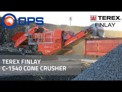 Terex Finlay C-1540 Cone Crusher | OPS Screening & Crushing