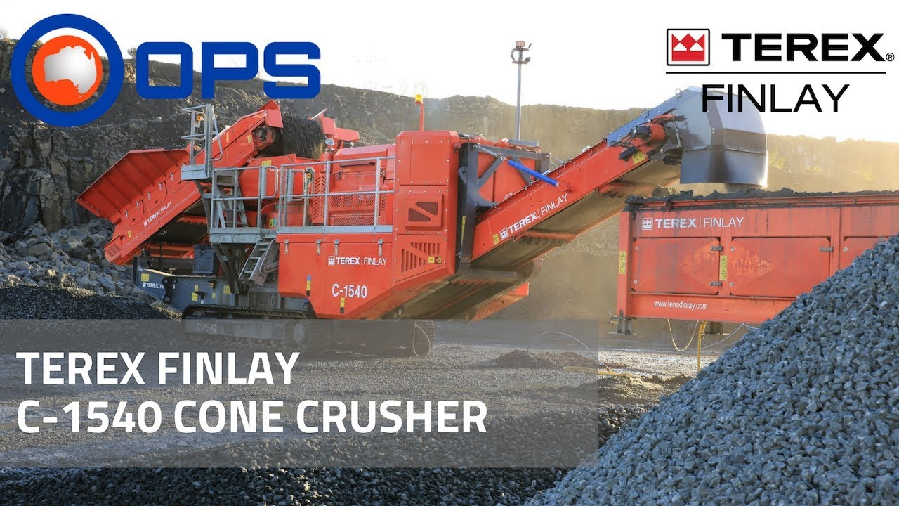 C-1540 Cone Crusher | Home | Welcome to OPS | Screening and Crushing