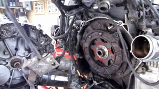 BMW Service - R1150RT Clutch Replacement