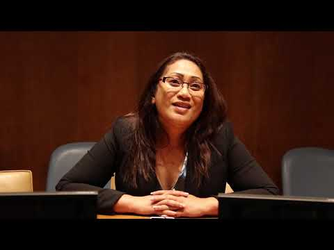 Republic of Marshall Islands Assistant Attorney General Claire Loeak