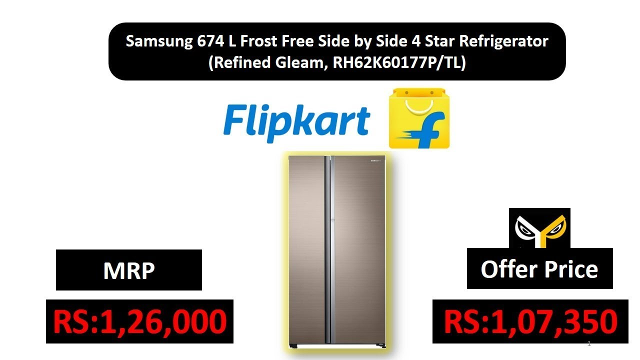 Samsung 674 L Frost Free Side By Side 4 Star Refrigerator Refined