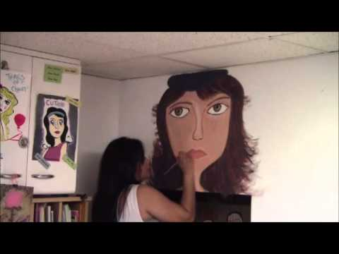 Beauty that still remains - Timed lapse wall painting