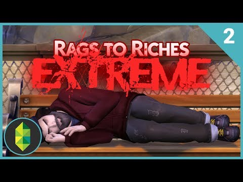 Rags to Riches EXTREME - Part 2 (The Sims 4)