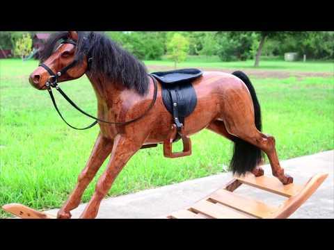 Mesquite Rocking Horse