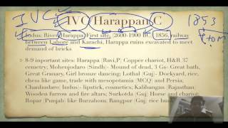 Ancient History  2 1 Indus Valley Civilization   Prepare for UPSC IAS by ramanji
