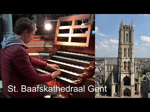 Toccata - C.M. Widor - St Baafs Kathedraal Gent - Gert van Hoef