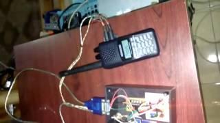 pengujian modem FSK ic TCM3105 HT Raspberry pi Arduino