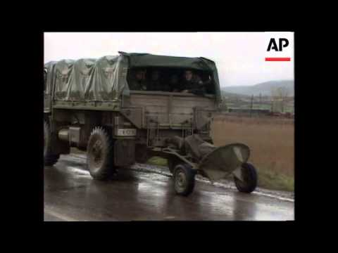 KOSOVO: SERB FORCES WITHDRAWAL SITUATION UPDATE