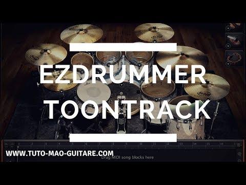Ezdrummer Toontrack GRATUIT Et Complet [TUTO MAO GUITARE]