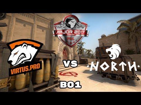 Virtus.Pro VS North | PGL Major Kraków | Komentuje Izak i Vuzzey